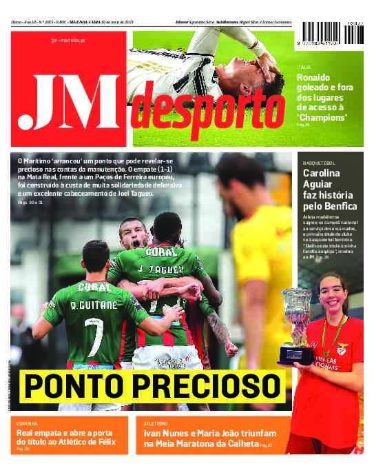 Edição impressa: Desporto