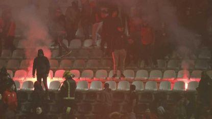 Adeptos do Benfica incendiaram bancada em Portimão (c/vídeo)