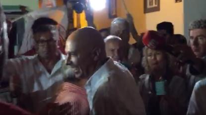 Assim foi a reação dos militantes do PS ao resultado eleitoral  (vídeo)