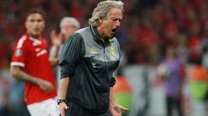 Jesus furioso com adjunto e com Gabigol na Libertadores (c/vídeo)