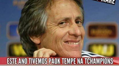 Veja os 'memes' mais divertidos alusivos à derrota do Benfica contra o PAOK