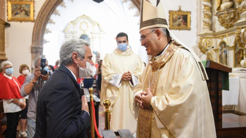 """José Manuel Rodrigues agradece a D. Tolentino Mendonça por """"tudo o que tem feito pela projeção da Madeira"""""""