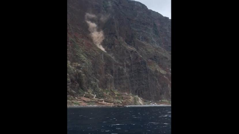 Derrocada volta a assustar no Cabo Girão (com vídeo)