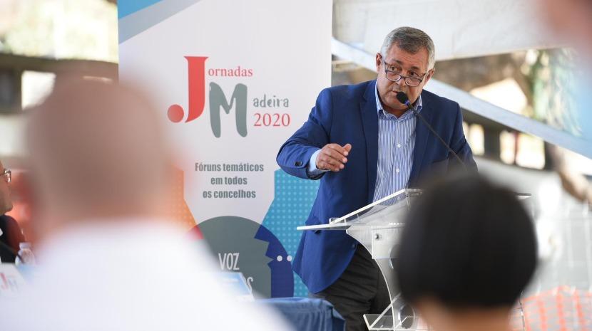 """Jornadas Madeira 2020: """"Não necessitamos de Bruxelas ou do Estado Central para dizer o que temos de fazer"""", Henrique Silva"""