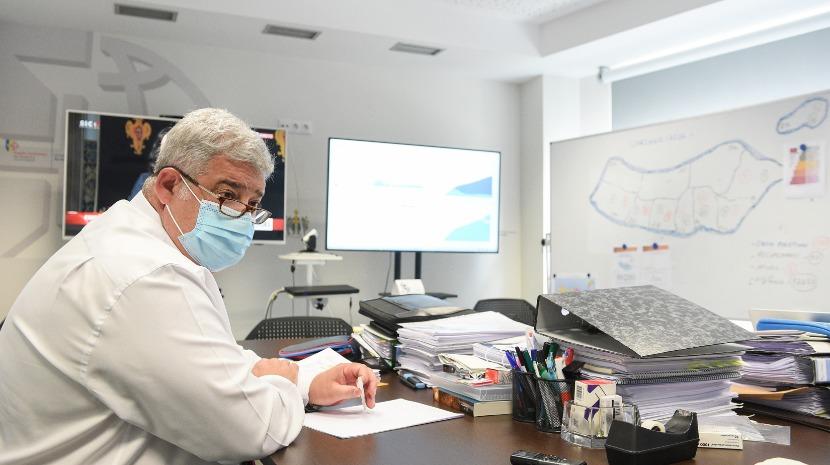 Pedro Ramos  reuniu-se com dirigentes da saúde do país