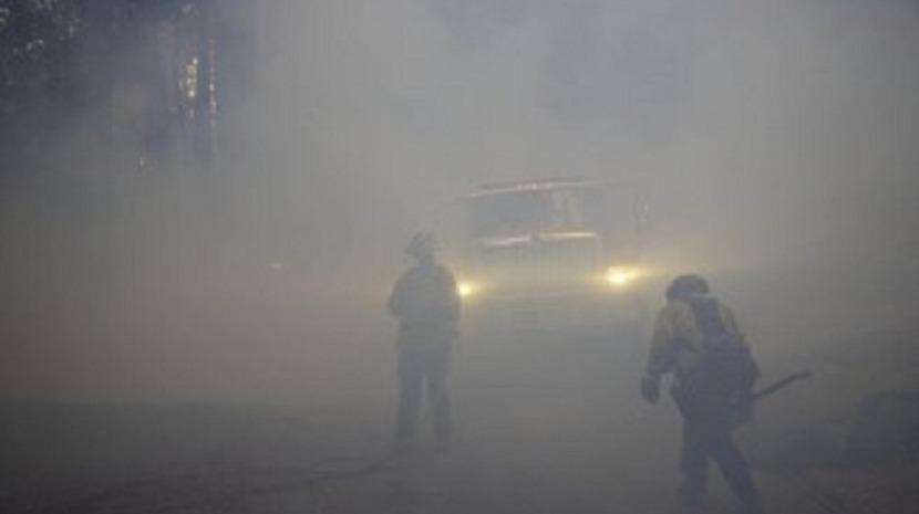 Fogo de artifício provocou incêndio florestal no sul da Califórnia