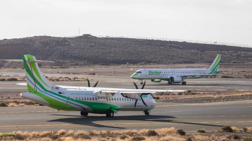 Campanha da Binter reduz preços nos voos entre a Madeira e Canárias