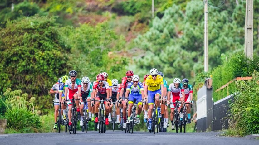 Bruno saraiva venceu 1.ª etapa da Volta à Madeira em bicicleta