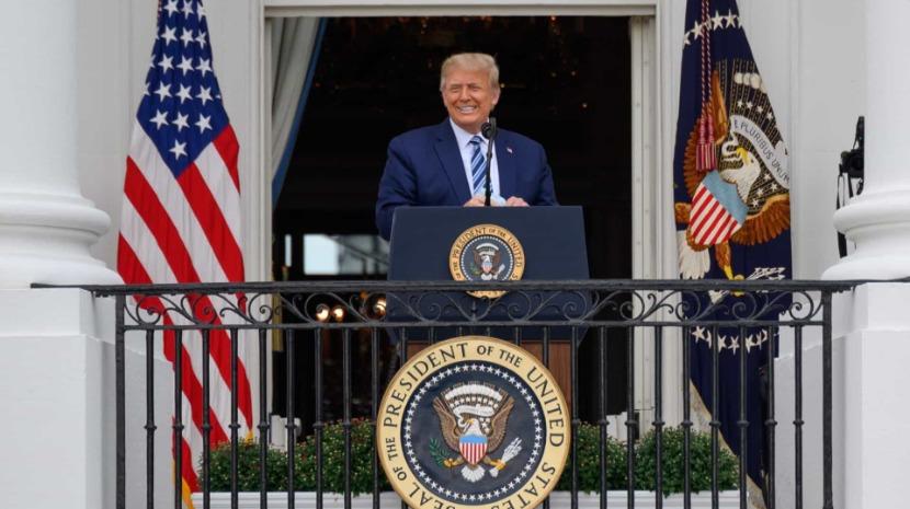 Covid-19: Trump já não corre risco de infetar terceiros