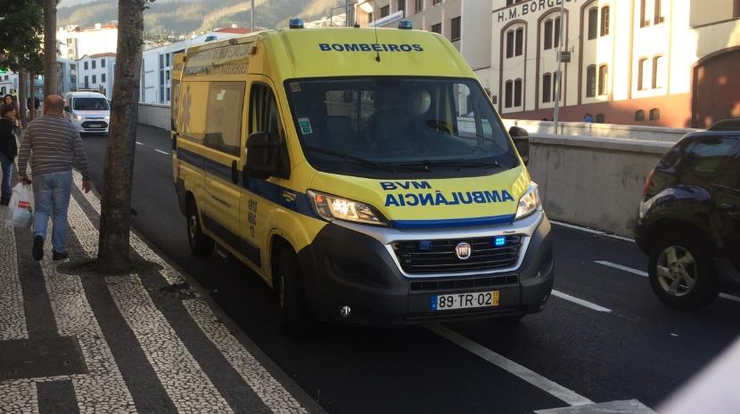 Mulher ferida em acidente na Boa Nova