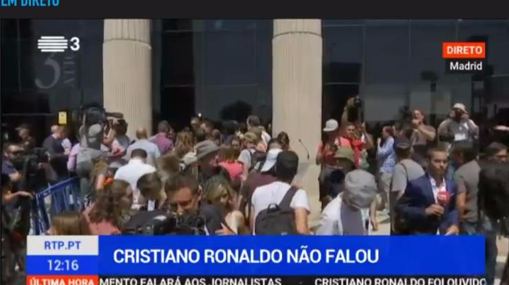 """Ronaldo """"entrou mudo e saiu calado"""""""