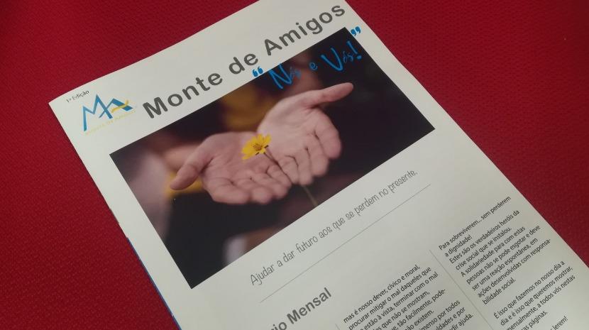 Associação Monte de Amigos lança jornal mensal