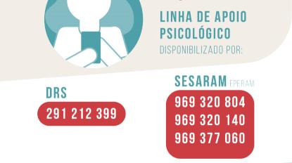 Linha de apoio psicológico à covid-19 disponível para ajudar madeirenses