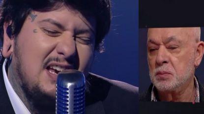 Agir cantou 'E Depois do Adeus' no Festival da Canção sob o olhar emocionado de Paulo de Carvalho (com vídeo)