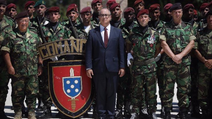 Ministro considera que formação segura nos Comandos manteve tropa especial exigente
