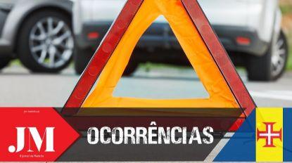Duas vítimas com ferimentos ligeiros em acidente com autocarro no Funchal