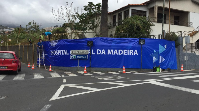 Obra do novo Hospital Central da Madeira já está no terreno