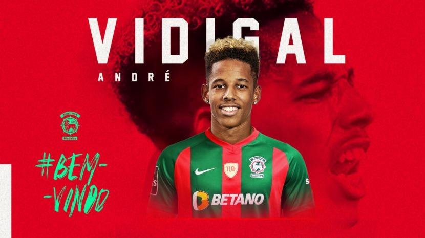 Vidigal é reforço do Marítimo para as próximas três temporadas