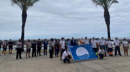 Sete anos depois, a Praia da Calheta volta a ter a bandeira azul hasteada