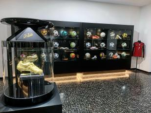Bola do jogo Hungria-Portugal não se junta às 61 Do Museu CR7
