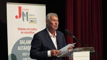 """Jornadas Madeira 2021: """"Não sou candidato porque não quero"""", diz Idalino Vasconcelos"""
