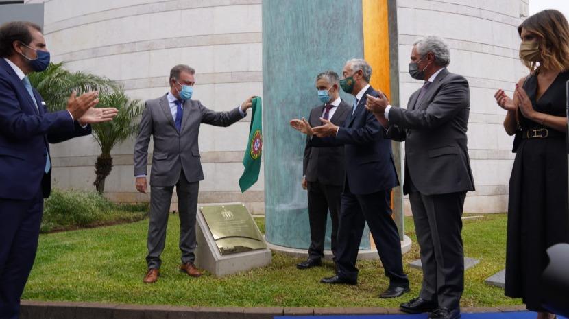 """Marcelo diz que a Madeira """"voltou a ser pioneira"""" na homenagem aos que combatem a pandemia"""