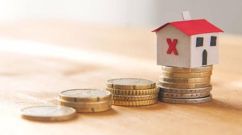 Prestação da casa paga ao banco sobe ligeiramente este mês
