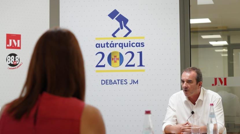 """Debate JM: PSD  e CDS defendem """"quatro faixas de rodagem"""" até a Calheta e Sofia Canha aponta soluções pontuais"""