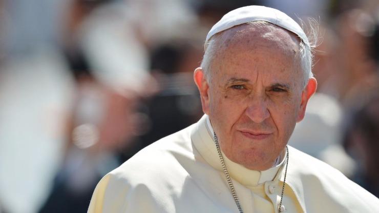 Papa Francisco recebeu e saudou comitiva do clube brasileiro Chapecoense