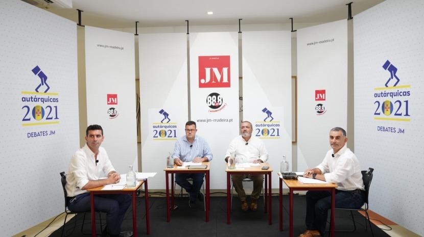 Debate JM: Ricardo Franco e Norberto Ribeiro empenhados no combate à perda de população