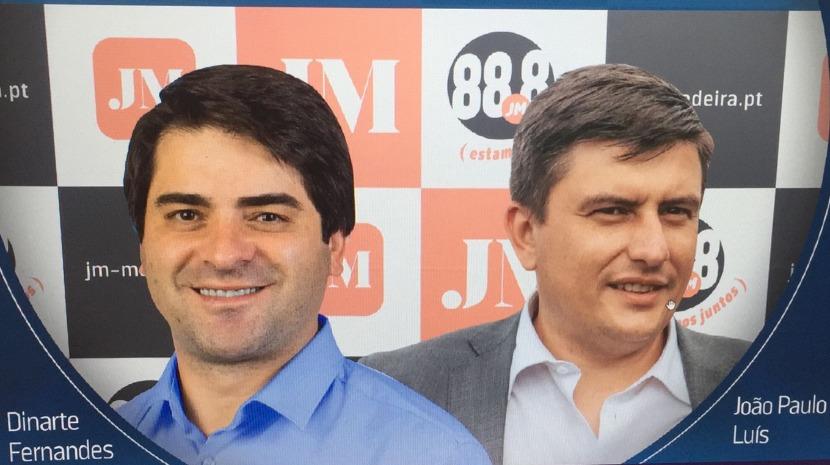 Debate JM: Dinarte Fernandes e João Paulo Luís debatem Santana a partir das 11h00
