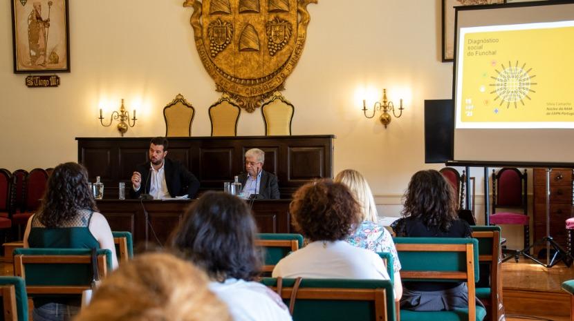 Foi apresentado esta tarde o Diagnóstico Social do Funchal