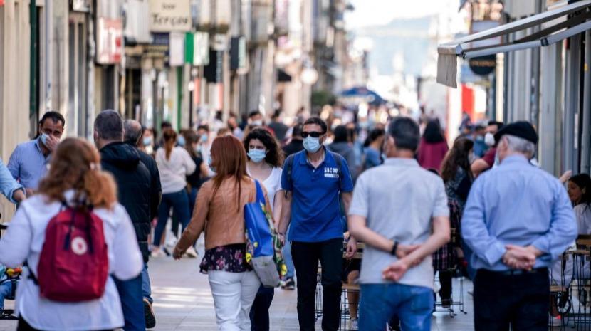 Incidência volta a descer e Portugal está na zona verde da matriz de risco