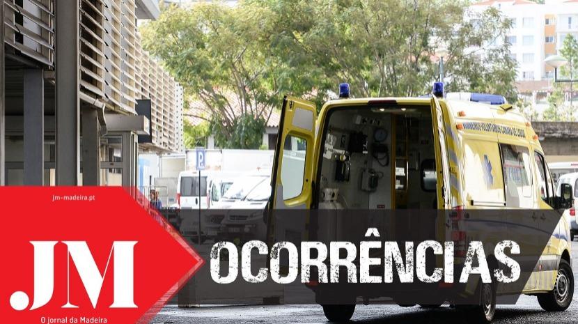 Acidente de viação em São Martinho deixa  mãe e filho feridos e aciona para o local duas corporações de bombeiros
