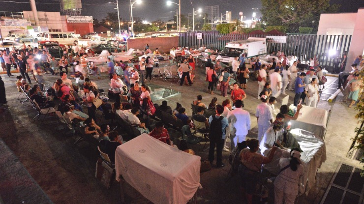 Em princípio não haverá portugueses na região afetada no México