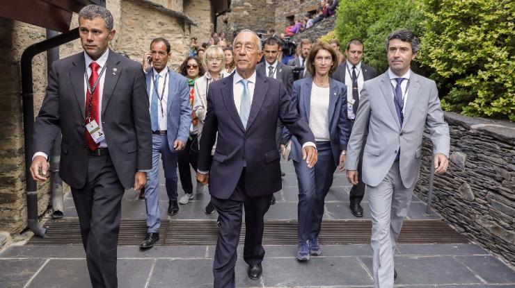 Marcelo homenageia o principado e o povo andorrano na sua festa nacional