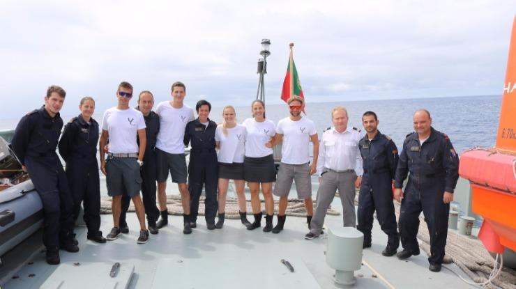 Marinha acompanhou estudo científico nas ilhas Selvagens