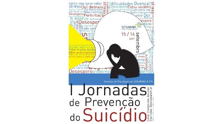 Pedro Ramos na abertura das Jornadas de Prevenção do Suicídio