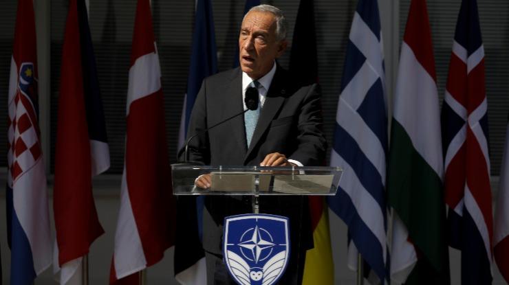 """Marcelo diz que NATO """"não se tornou obsoleta"""" e assegura empenho de Portugal"""