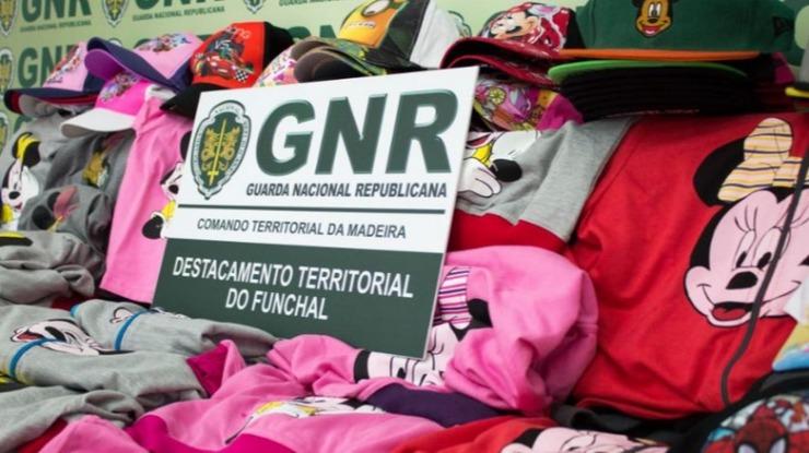 GNR apreende 13 mil euros de material contrafeito