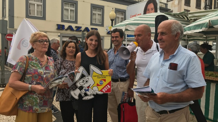 Raquel Coelho pede um voto de confiança na candidatura do PTP ao Funchal