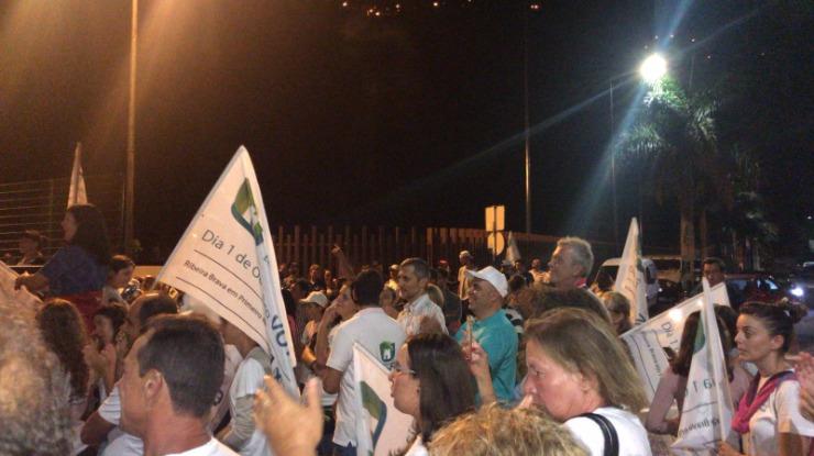 Veja o vídeo da festa dos apoiantes de Ricardo Nascimento na Ribeira Brava