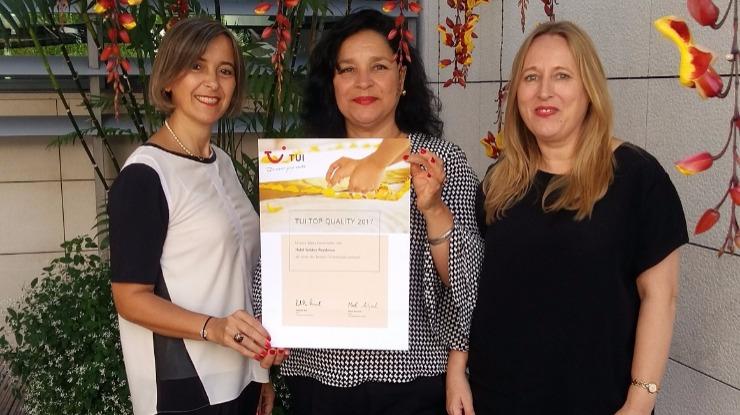 Golden Residence distinguida na 'TUI Top Quality Awards'