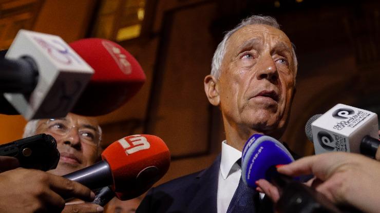 """""""Não visto a camisola de nenhum partido nem de nenhum candidato"""" – Marcelo"""
