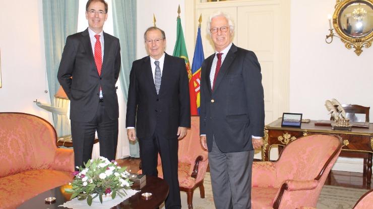 Representante da República recebe embaixador dos Países Baixos