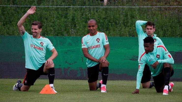 Pepe foi o único a falhar apresentação — Seleção