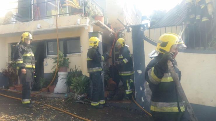 Corpo carbonizado em incêndio no Funchal