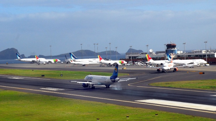 Movimento no Aeroporto da Madeira regularizado