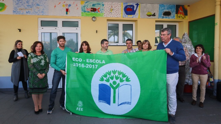 Porto Santo pleno em eco-escolas