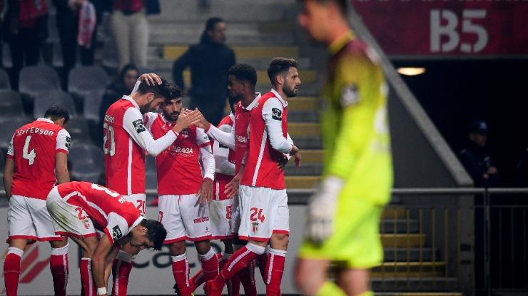 Braga vence Feirense e 'foge' ao Marítimo na tabela (com vídeo)